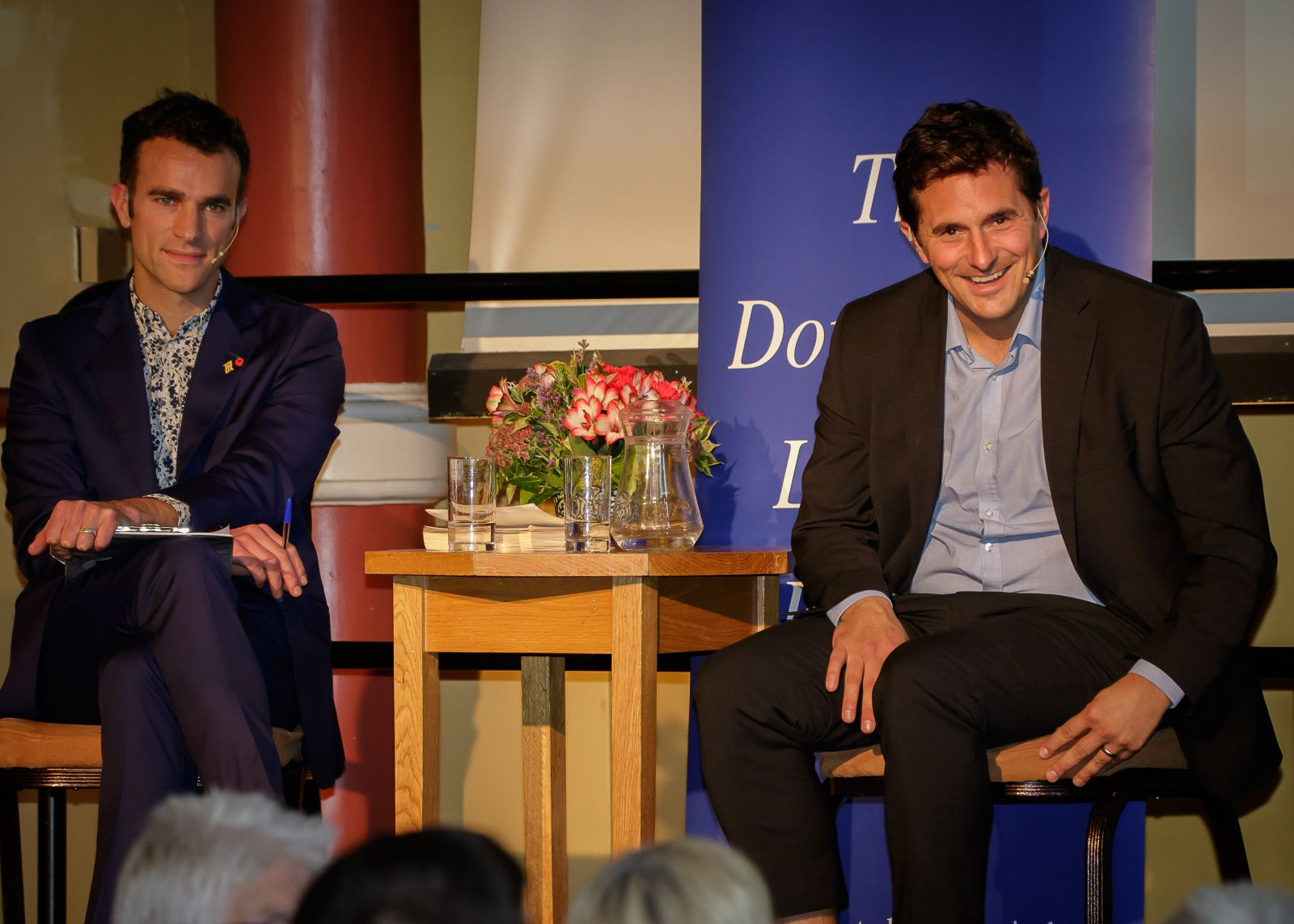 Capt Johnny Mercer MP in conversation with Steve Harris